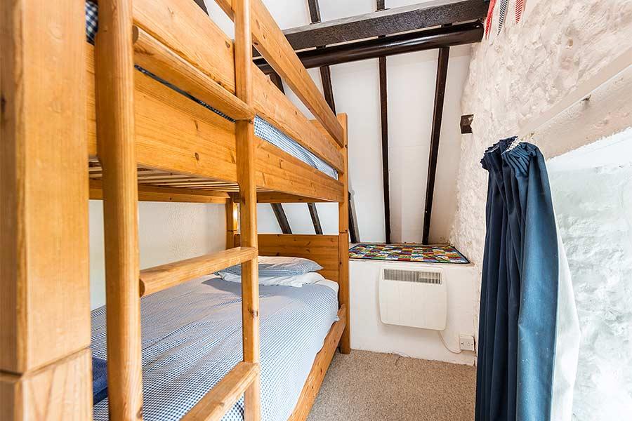 Twin Bedroom Bunk Beds in Hayloft