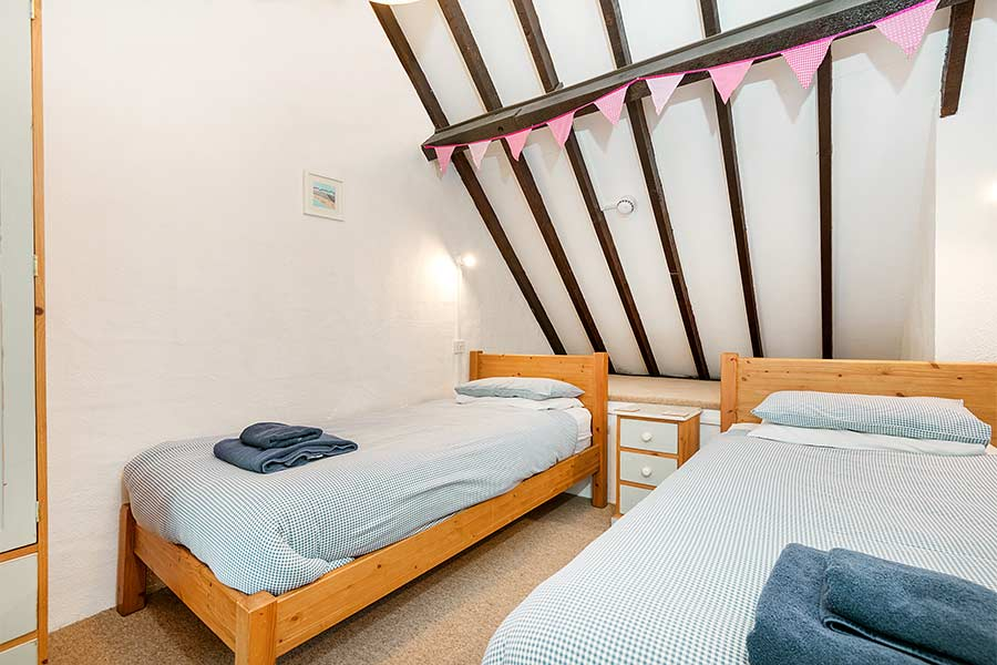 Twin Bedroom in Hayloft