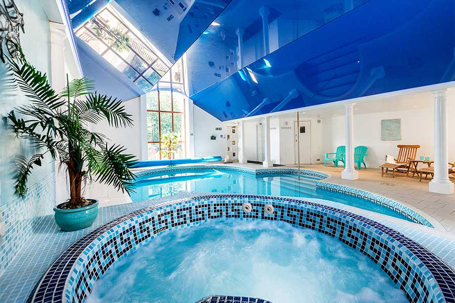 Indoor Swimming Pool and Jacuzzi