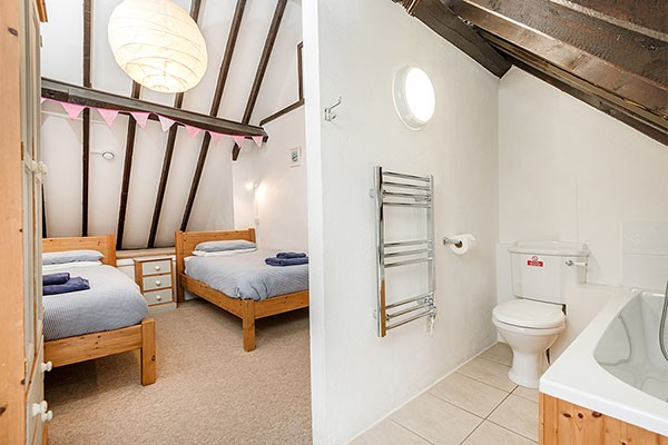 Bedroom and En Suite of Hayloft