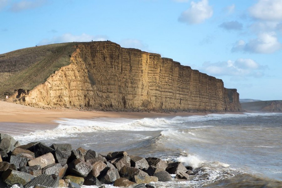 Seaside View of West Bay, Dorset