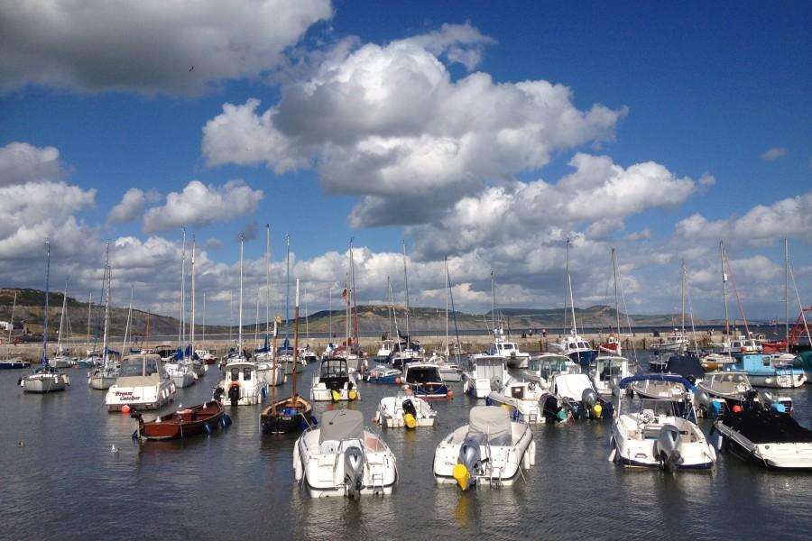 Harbour View of Lyme Regis, Dorset