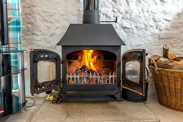 Log Burner available in some rooms